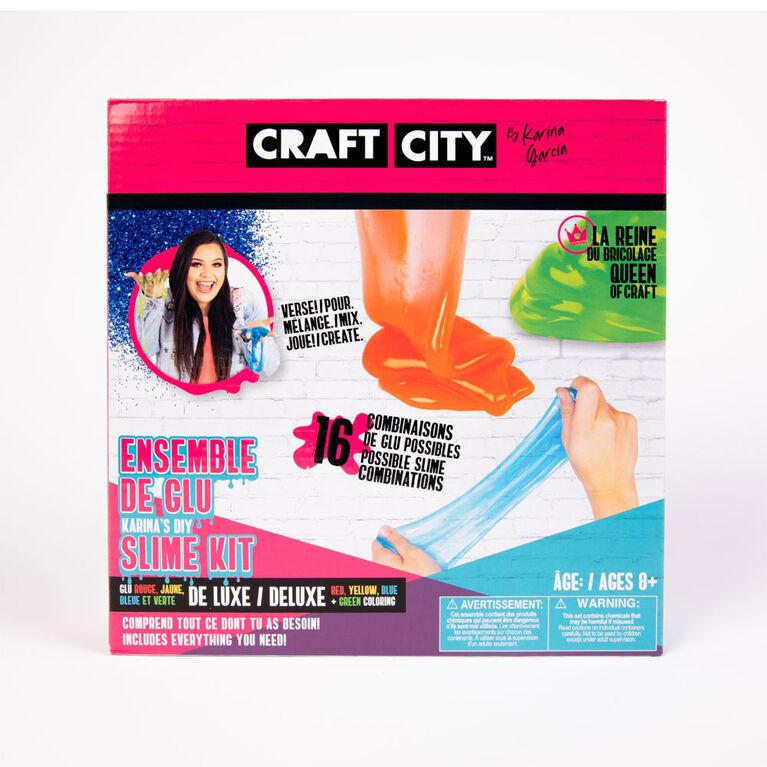 Craft City by Karina Garcia DIY Coloured Slime Kit - R Exclusive