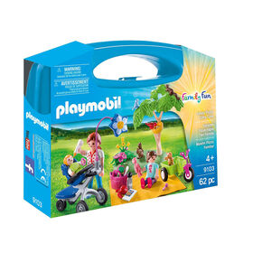 Playmobil - Family Picnic Carry Case (9103)