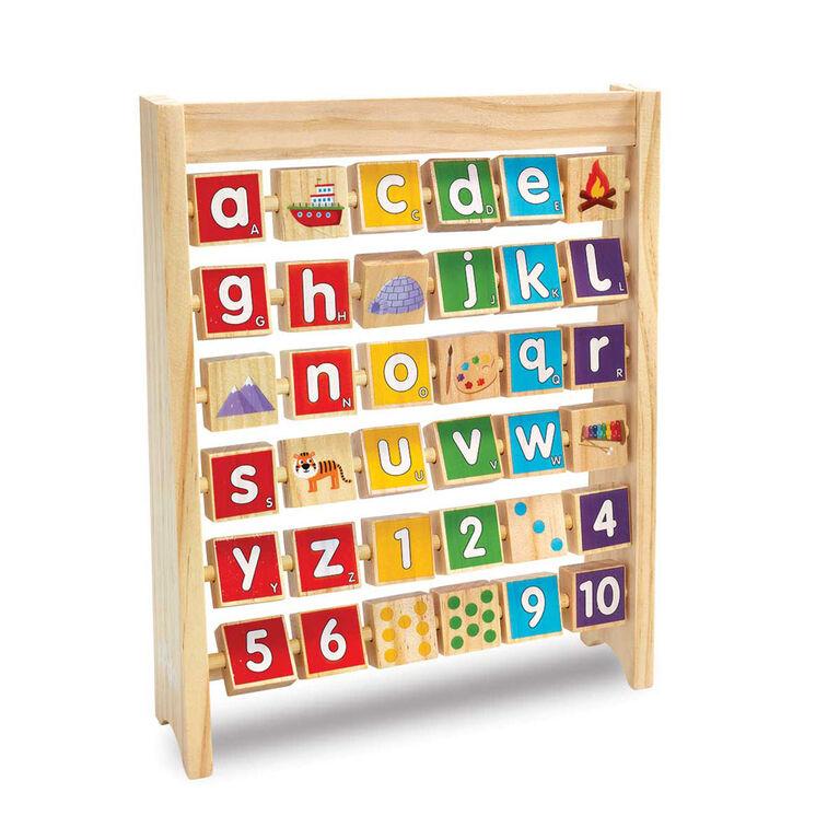 Boulier Alphabet Woodlets - Notre exclusivité