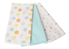 Disney Baby Paquet de 3 couvertures pour nouveau-né- Winnie The Pooh