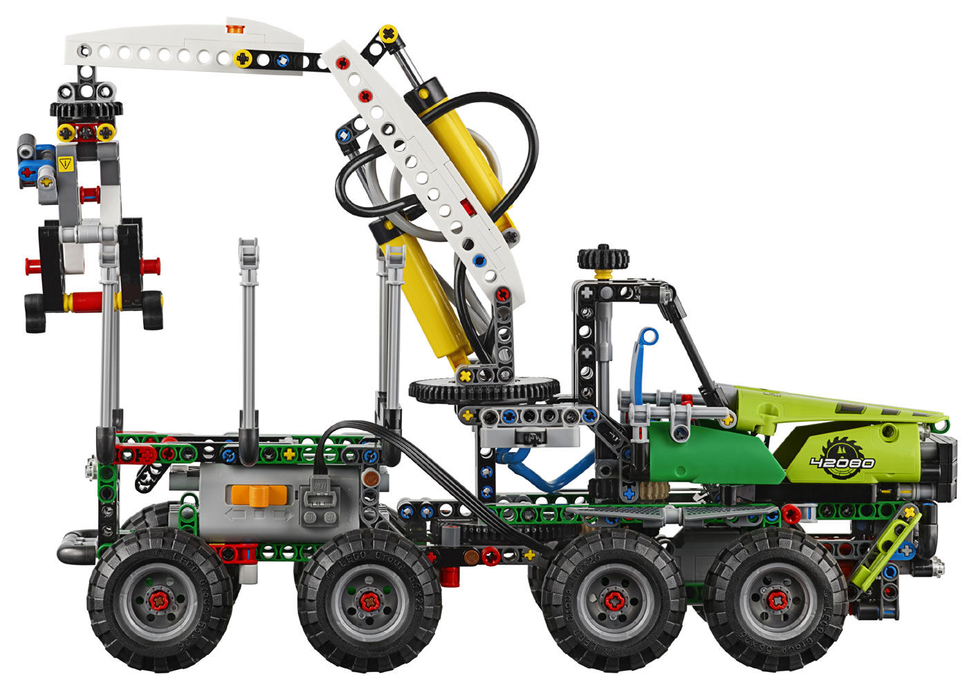 10-16 Years LEGO Technic Forest Machine Power Functions Model 42080