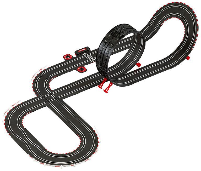 Carrera GO!!! - Ensemble de piste de course automobile complète pour Nintendo Mario Kart Mach 8