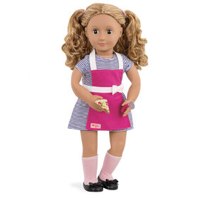 Our Generation, Isa, 18-inch Posable Retro Diner Doll