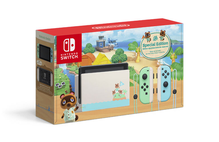 Nintendo Switch - Animal Crossing New Horizons Edition