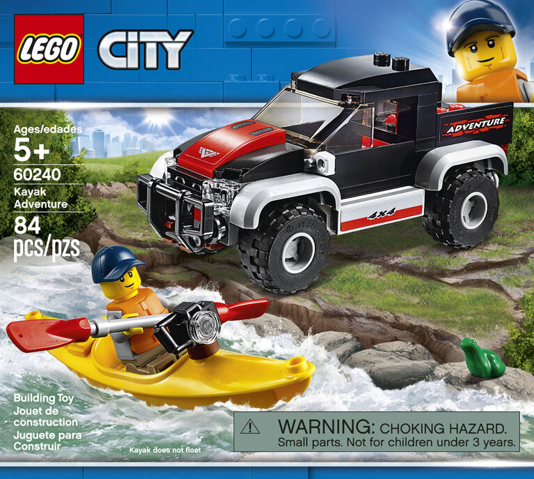 LEGO City Great Vehicles Kayak Adventure 60240