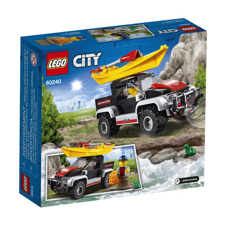 LEGO City Great Vehicles L'aventure en kayak 60240