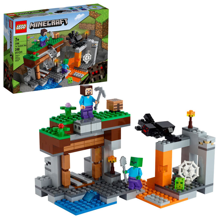 """LEGO Minecraft The """"Abandoned"""" Mine 21166"""