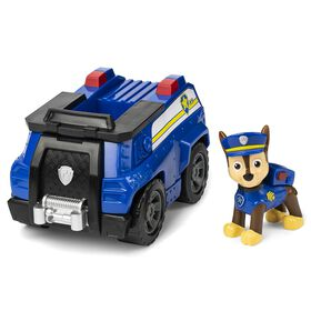 PAW Patrol, Chase's Patrol Cruiser Vehicle with Collectible Figure  051947