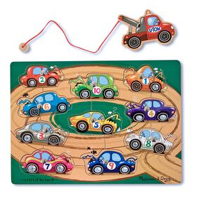 Melissa & Doug - Tow Truck Magnetic Puzzle Game