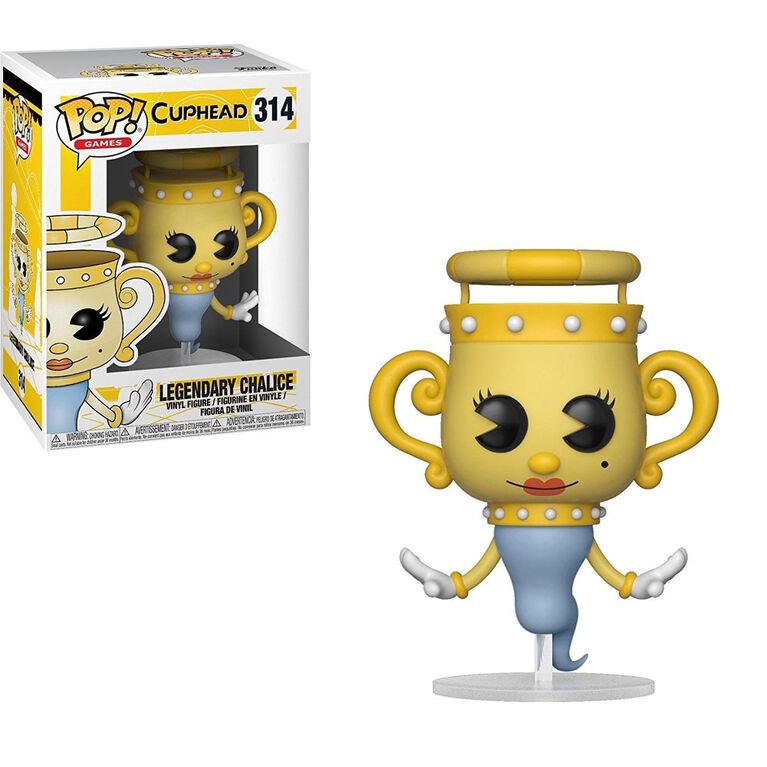 Figurine en vinyle Legendary Chalice de Cuphead par Funko POP!.