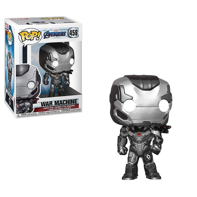Funko POP! Marvel: Avengers Endgame - War Machine Vinyl Figure
