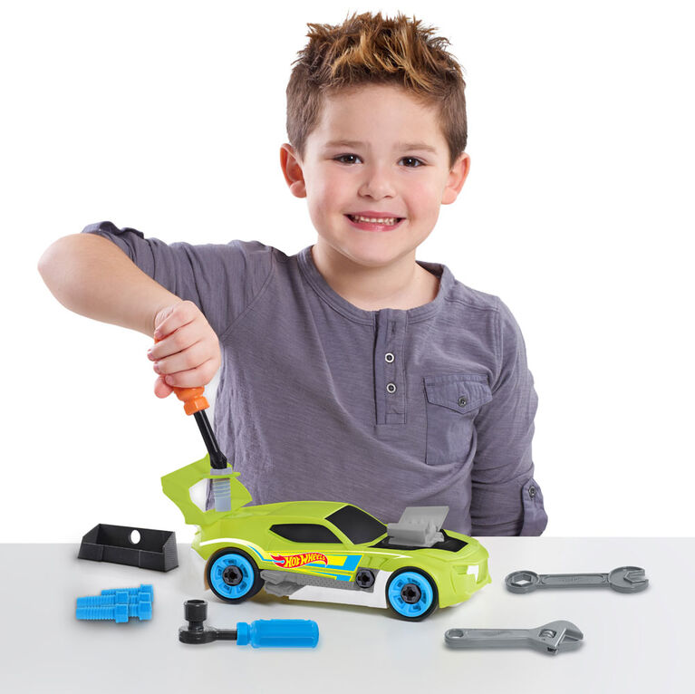 Hot Wheels Ready to Race Car Builder - 29 Pieces