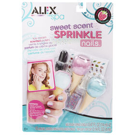 Alex Spa Sweet Sprinkle Nails.