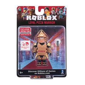 Roblox Figure Loyal Pizza Warrior W6 - English Edition
