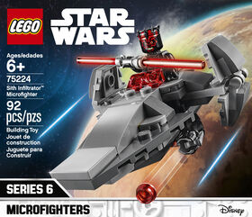 LEGO Star Wars Microvaisseau Sith Infiltrator 75224