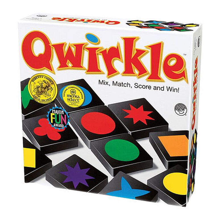 Qwirkle Game - English Edition