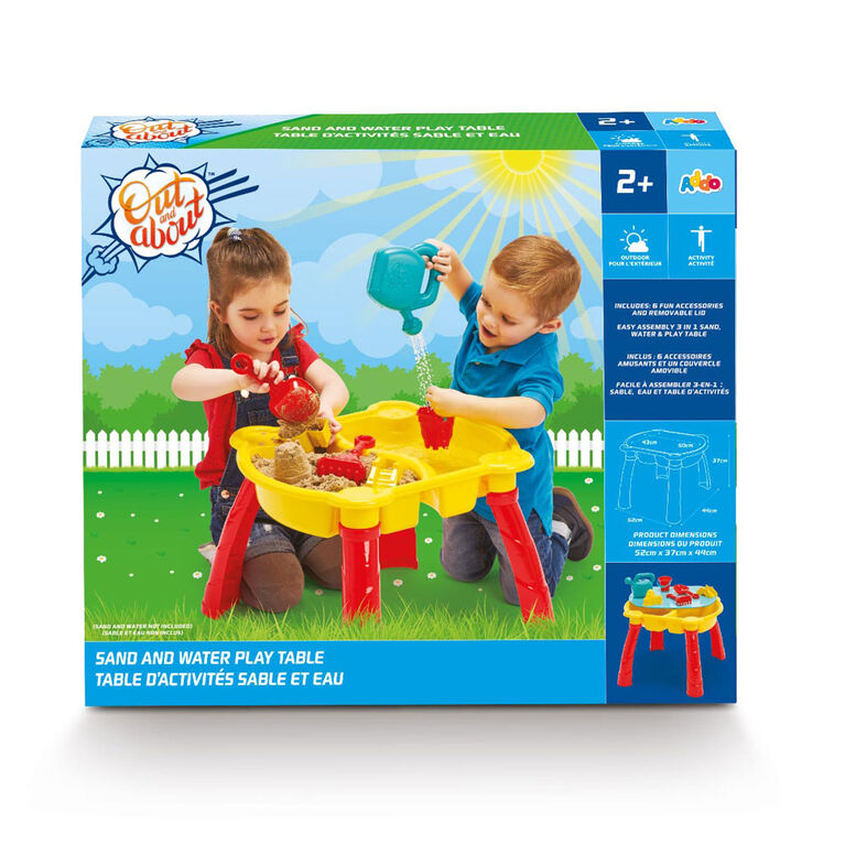 Out & About - Sand And Water Table