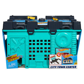 Hot Wheels City Town Center Playset