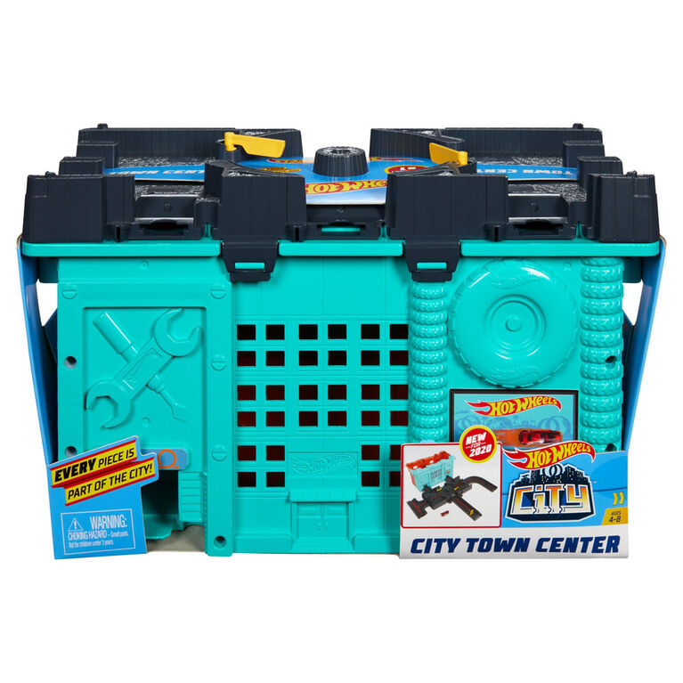 Hot Wheels - Ville - Coffret de jeu Centre-ville
