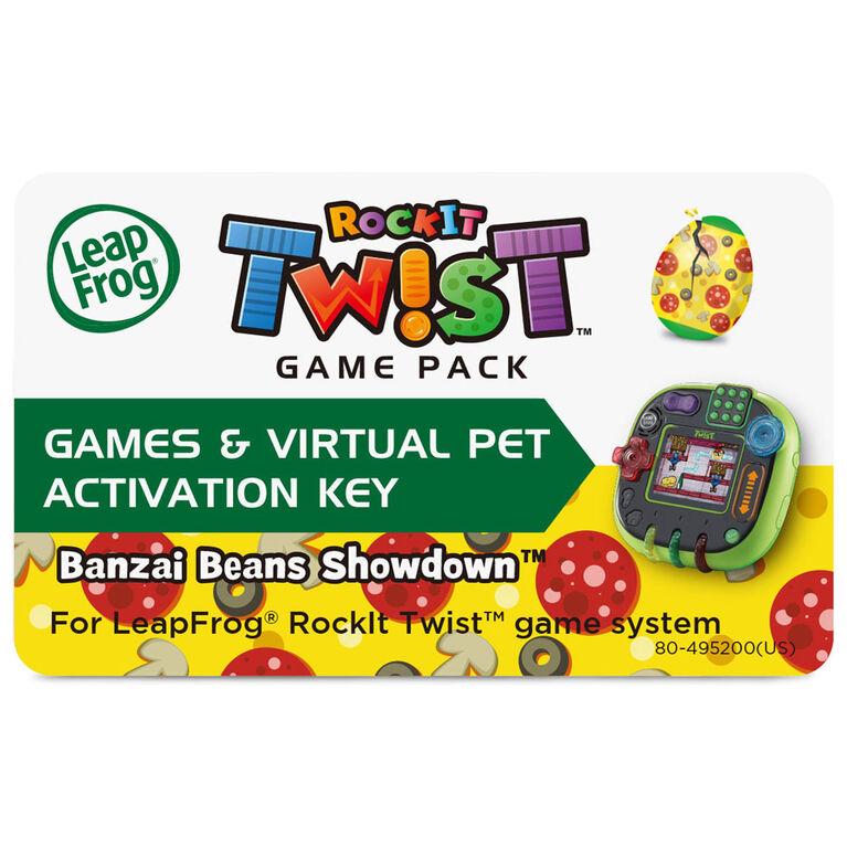 LeapFrog RockIt Twist Game Pack Banzai Beans Showdown - English Edition