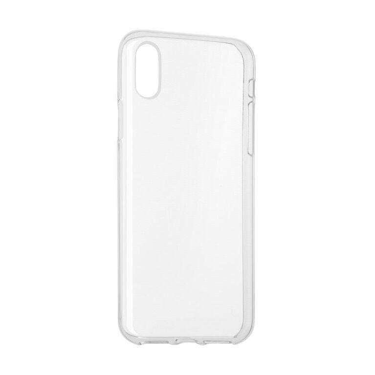 Blu Element Gel Skin Case for iPhone XS/X Clear (BCTI8C)