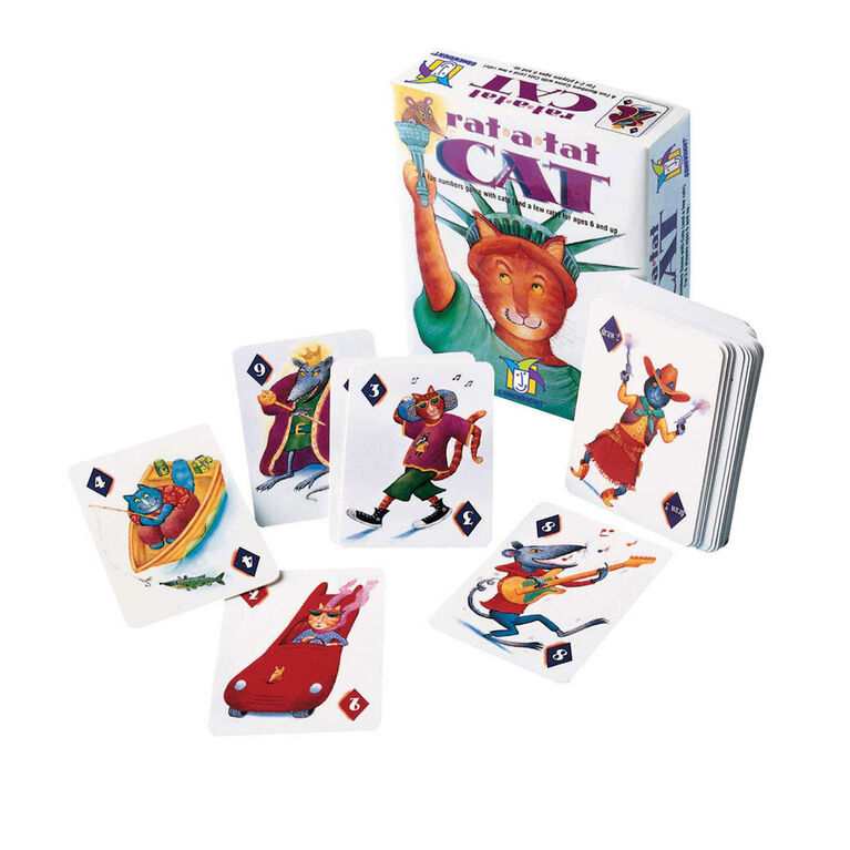 Gamewright - Rat-a-Tat Cat Game