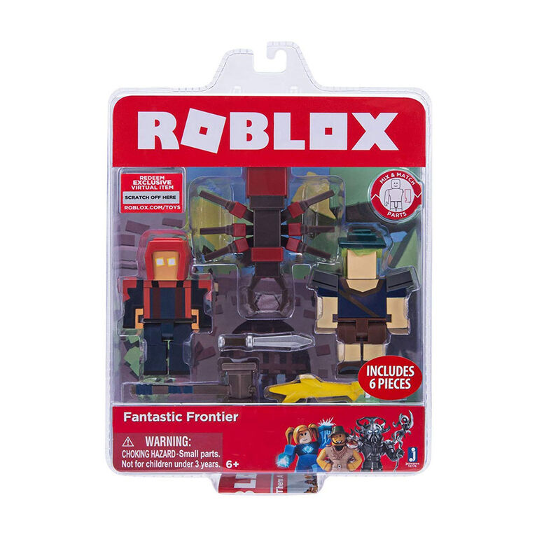 ROBLOX- Lot de 2 figurines Fantastic Frontier.