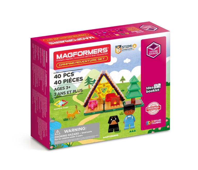 Magformers Mason & Mutts Camping - English Edition