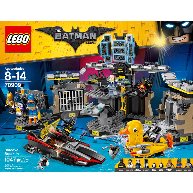 LEGO Batman Movie Le cambriolage de la Batcave 70909