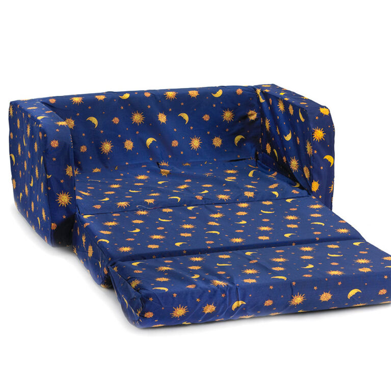 Comfy Kids Flip Sofa - Galaxy