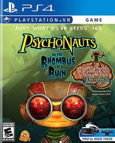 PlayStation VR - Psychonauts In the Rhombus of Ruin