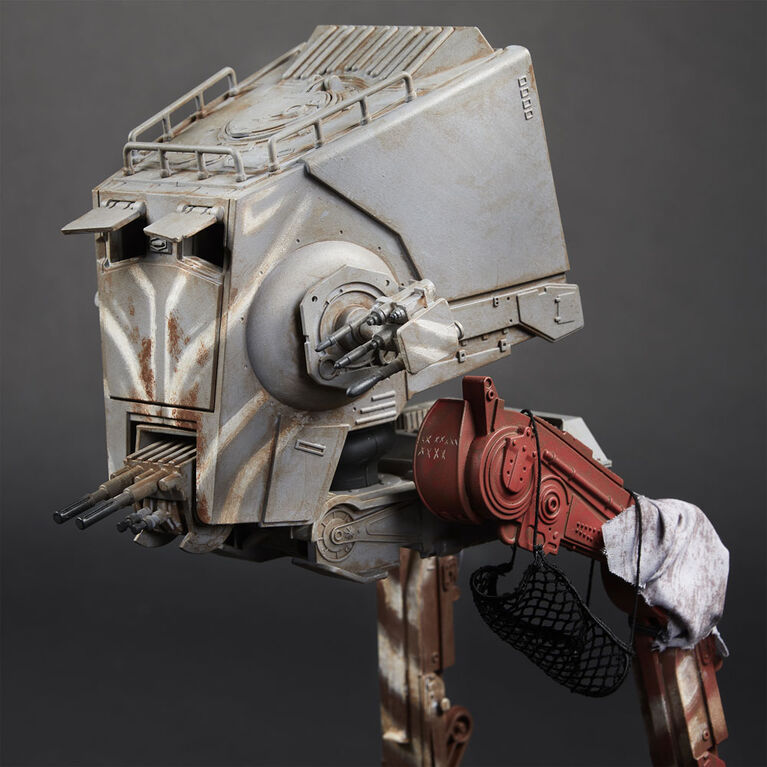 Star Wars The Vintage Collection, The Mandalorian, véhicule AT-ST Raider avec figurine - R Exclusif