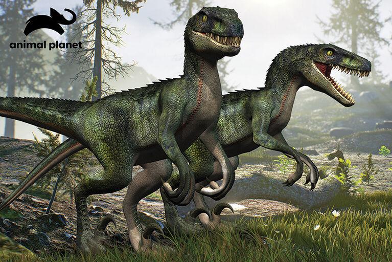 Planète Animale - Velociraptor - 150 pc Casse-tête Super 3D - Notre exclusivité
