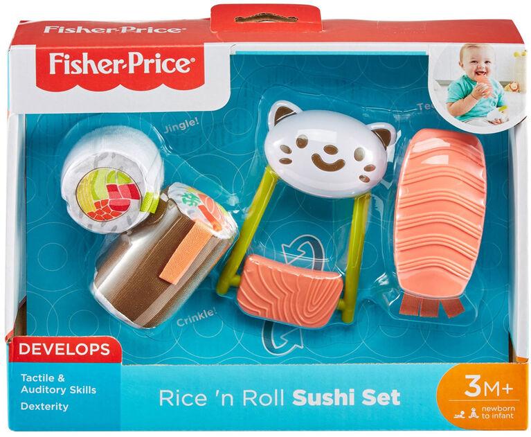 Fisher-Price Rice 'n Roll Sushi Set