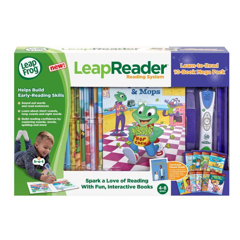 Méga coffret Mon Lecteur Leap, lecteur et livres – Version anglaise