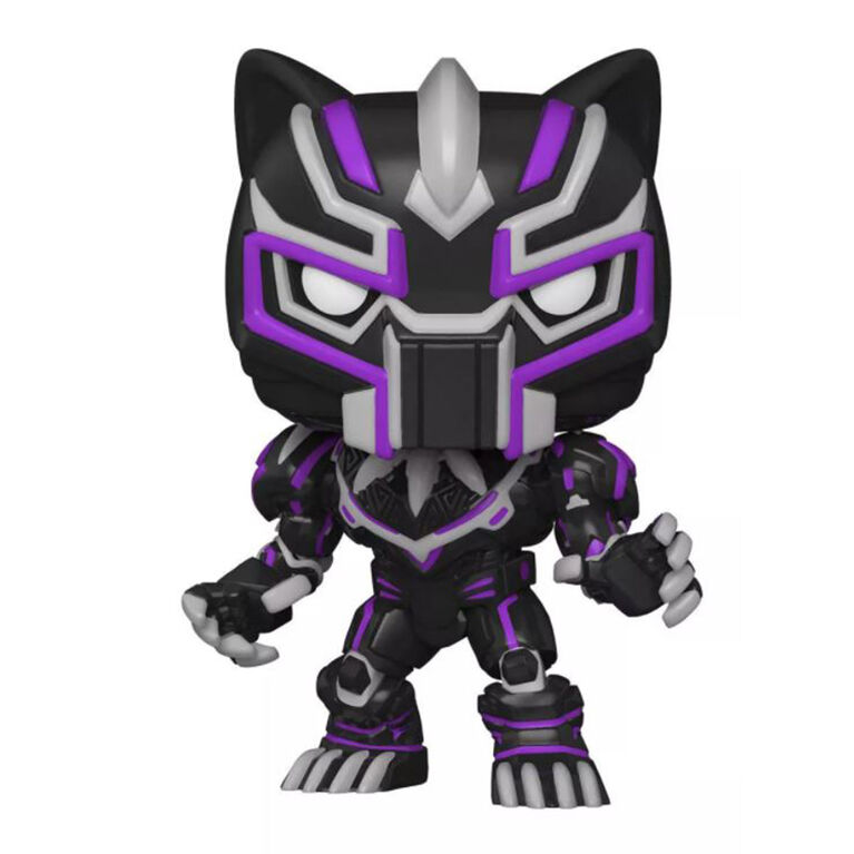 Funko POP! Marvel: Marvel Mech - Black Panther (Glow) - R Exclusive