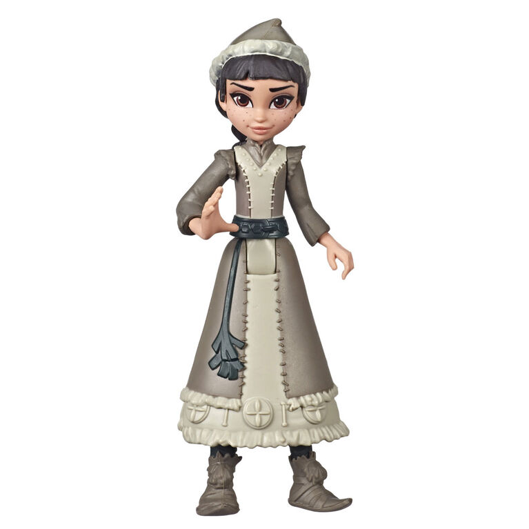 Disney Frozen Honeymaren Small Doll Wearing White Dress, Inspired by the Disney Frozen II Movie