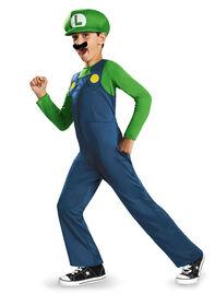 Déguisement Super Mario Bros. Luigi Classique 7-8