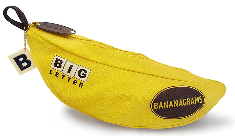 Big Letter Bananagrams Game
