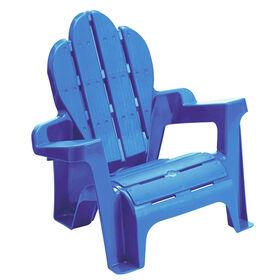 Chaise Adirondack - bleue