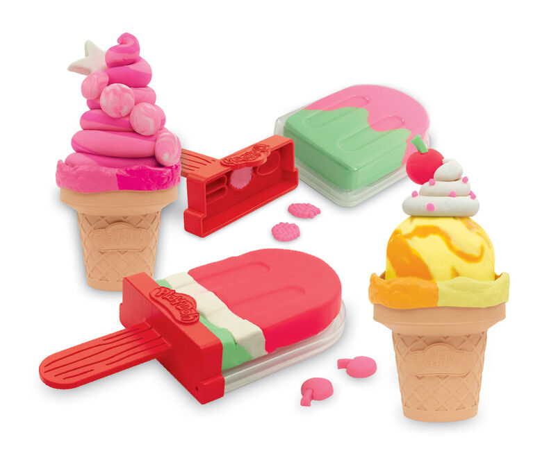 Play-Doh Ice Pops 'n Cones