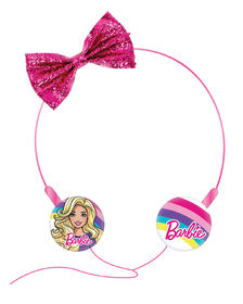Barbie Molded Wire Kidsafe Headphones