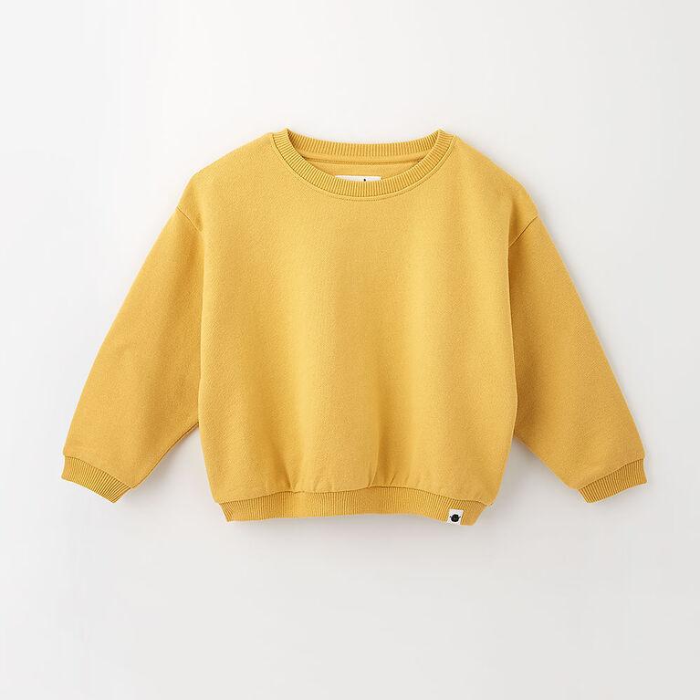 sweet slouchy sweatshirt, 4-5y - rattan