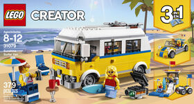 LEGO Creator L'autocaravane de plage du surfeur 31079