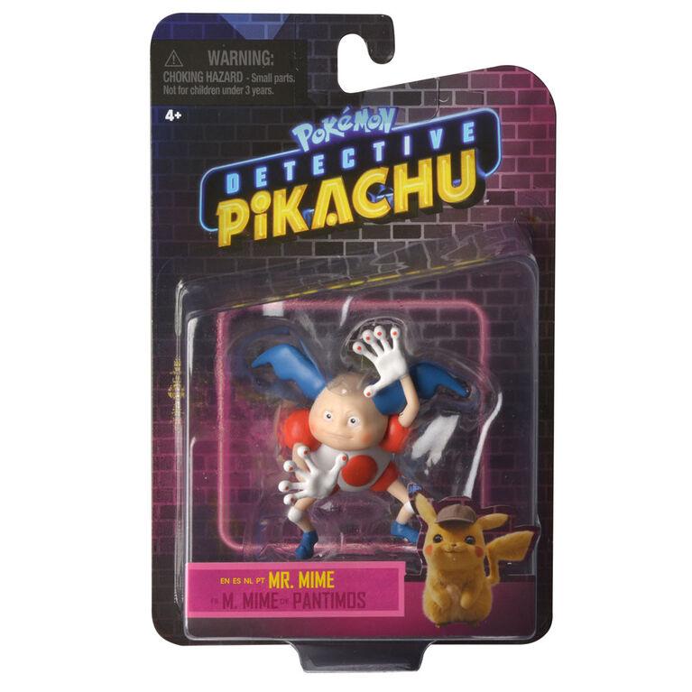 "Detective Pikachu Battle Figure Packs - 3"" Mr. Mime"