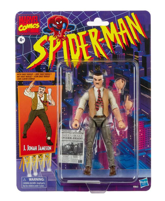 Hasbro Marvel Legends Series, figurine de rétro J. Jonah Jameson