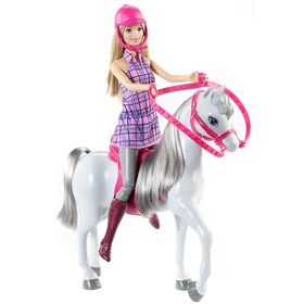 Barbie Doll and Horse
