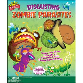 Scientific Explorer Distugusting Zombie Parasite