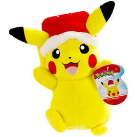 "Pokémon 8"" Holiday Plush - Pikachu - R Exclusive"