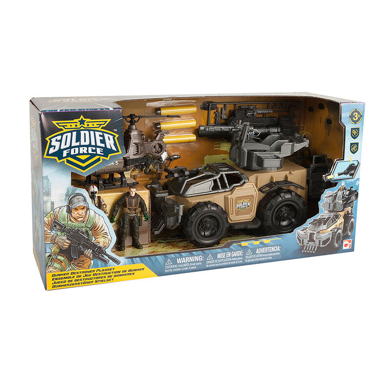 Soldier Force Bunker Destroyer Playset - R Exclusive